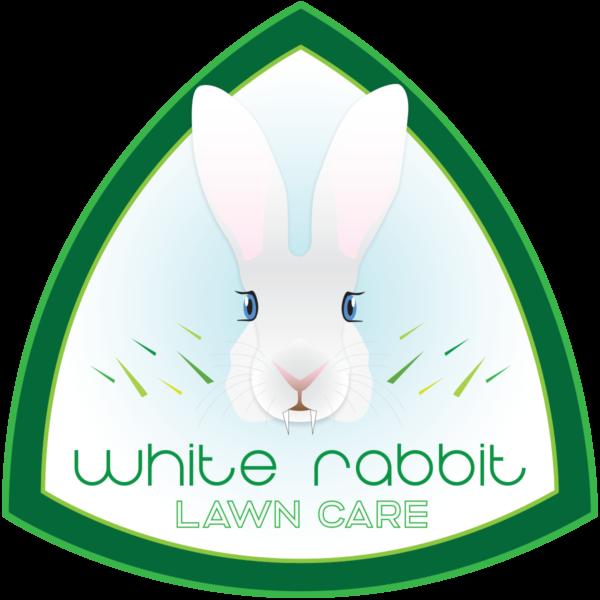 White Rabbit Lawn Care logo